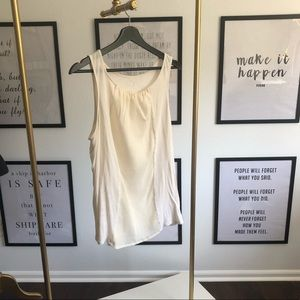 [3 for $15] soft ivory two texture tank top